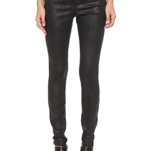 FREE PEOPLE LEGGINGS - Mosshart Zip leggings